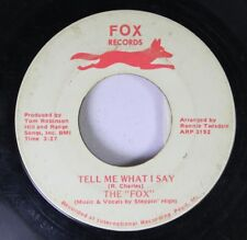 "Hear! R&B Rocker Instr. 45 The ""Fox"" - Tell Me What I Say / Young Love On Fox"