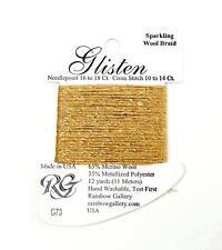 GLISTEN Sparkling Braid #29 Peach Melba Needlepoint Thread by Rainbow Gallery