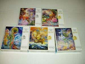 Lot of 5 Josephine Wall Glitter Jigsaw Puzzles 1000 Pieces NIB