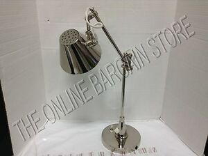 Pottery Barn PB LED Task Office Table Desk Lamp Light Energy Saver Nickel