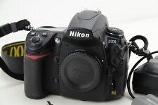 Nikon D d700 negro carcasa, fx, 15403 desencadenadores, sólo Body