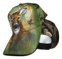 Redneck Camouflage  Camo Deer Buck baseball style ball Hat Cap