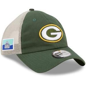 Green Bay Packers Hat Flag 9TWENTY Adjustable Trucker Cap