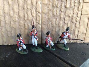 4 Barzo LOD British Grenadiers War of Independence, 7 year war, Jacobite Rebelli
