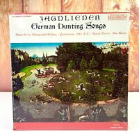 Hans Martin JAGDLIEDER German Hunting Songs Vinyl LP Record NEW Unopened