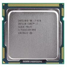 Intel Core i7-870 2.93GHz Quad-Core Processor Socket 1156 CPU 8MB Cache