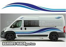 Motorhome Campervan 007 graphics stickers decal Fiat Ducato Citroen Relay Boxer