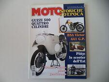 MOTO STORICHE E D'EPOCA 12/1997 DUCATI 125 BIALBERO/PITTY/MOTOBI PICNIC/BSA 441