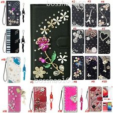 for Xiaomi Redmi Phone Cases Women Bling Leather Stand Wallet Protective Covers