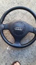 3 radios de volante deportivo Audi a3 8l volante de cuero volante 8l0419091c