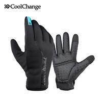 Winter Fahrradhandschuhe Mountainbike Motorrad Handschuh Winddicht Touchscreen