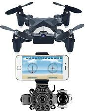 ARVIN mini drone, 4CH 4 axes hélicoptère radiocommandé extérieur Mini Pliable RC
