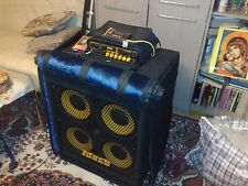 Custom padded cover for MarkBass 104HF Front Ported 4x10 bass cab