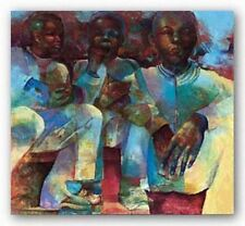 AFRICAN AMERICAN ART PRINT Listen to the Frito Lay Paul Goodnight