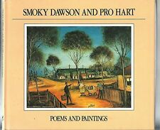 SMOKY DAWSON & PRO HART Poems & Paintings 1990 1st Edition COLOUR ARTWORKS