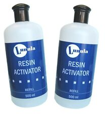 2 x 500ml Resin Activator / Nail Glue Accelerator