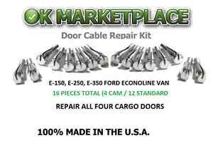 Ford E Series and F Series Handle Cable Ends Repair Kit (16 Repair Ends) 4B12A