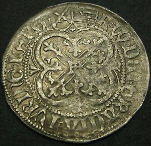 MEISSEN (SAXONY) Grossus ND -Silver- Friedrich II & Wilhem III (1459-61) - 2017*