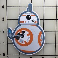 "Star Wars BB8 4"" Tall Vinyl Decal Sticker BOGO"