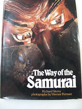 Forman Japan Culture Japanese History Way of the Samurai Color Illus. DJ 1978
