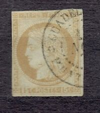 French colonies 1872  -  Mi 18  Ceres