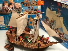 Playmobil Barco pirata 1ª version años 1984 caja original 3550 completo