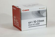 CANON EF-S 10-22mm f/3.5-4.5 Lens 10-22 Wideangle (#11 - 03102393 )