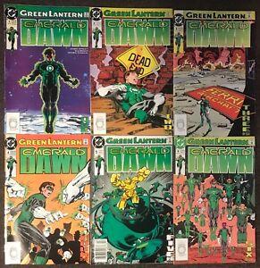 Green Lantern Emerald Dawn #1,2,3,4,5,6 DC 1990 Jim Owsley New Set Lot Nm