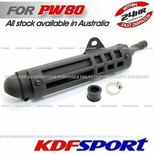 KDF PW80 PY80 MUFFLER SILENCER EXHAUST PIPE FOR YAMAHA PW PY AFTERMARKET PARTS