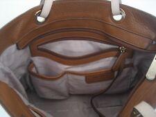 Michael Kors Mercer Convertible Leather Tote - Brown