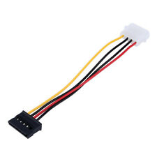 15 Pin Female SATA ATA HDD Hardrive to 4 PIN IDE MOLEX Power Adapter Cable 50cm