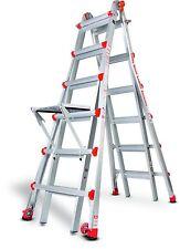 26 1A DEMO Little Giant Ladder w/ Platform & Wheels!