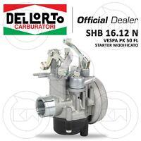 CARBURATORE DELL'ORTO SHB 16.12 N STARTER MODIFICATO PER PIAGGIO VESPA 50 FL2 HP