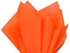 Bulk lot Orange Tissue Paper 480 Sheets 15x20 Holiday Baskets Crafts Party Poms