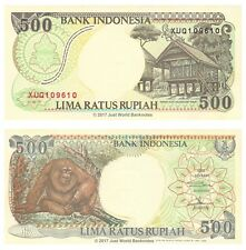 Indonesia 500 Rupiah 1992 (1996) Replacement P-128er Banknotes UNC