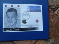 Gabba Great Cricketer Wally Grout Pre Paid Envelope