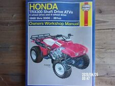 HAYNES Repair Manual - Honda TRX300 Shaft Drives (88-00)