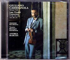 Giuliano CARMIGNOLA: VIVALDI Late Violin Concerto Vol.2 Premire ANDREA MARCON CD