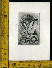 Ex Libris Originale Di Giorgio Dieci a 388