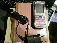 Nokia 7360 OVP Bediener Heft Powder Pink  SIMfrei Kamera Radio super ok gebr 23