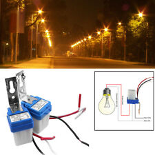 2pc AS-10 12V 10A Auto On Off Photocell Street Light Switch Photo Control Sensor