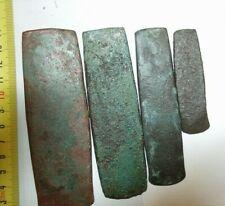 Set of 4 Ancient Bronze Tesla Scythians Vikings Original