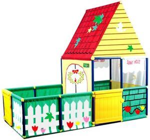 Large Boys Girls Playhouse Outdoor Garden Play Plastic Wendy House Kids Children