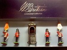 Britains 00091 Scots Guards Colour Party & Sentry Box (5 pcs)