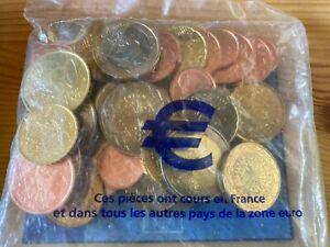 Sachet Kit EUROS 15,24 € du 1er Janvier 2002