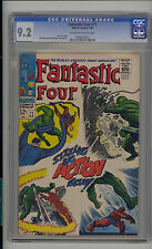 Fantastic Four #71 CGC 9.2 NM- Unrestored Marvel OFF-WHITE to WHITE Pages Copy 2