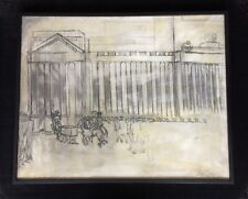 "Joseph Delaney original painting General Douglas ""MacArthur's Farewell"""