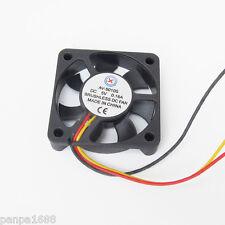 10x DC Brushless Ventilador de refrigeración 50x50x10mm 5010S 7 Hojas 5V 0.16A conector 3pin