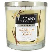 NEW Tuscany Candle 14 Oz Vanilla Bean Candle