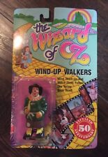 NEW Vtg 1988 Multi Toys The Wizard of Oz Scarecrow Wind-up Walkers in Pkg